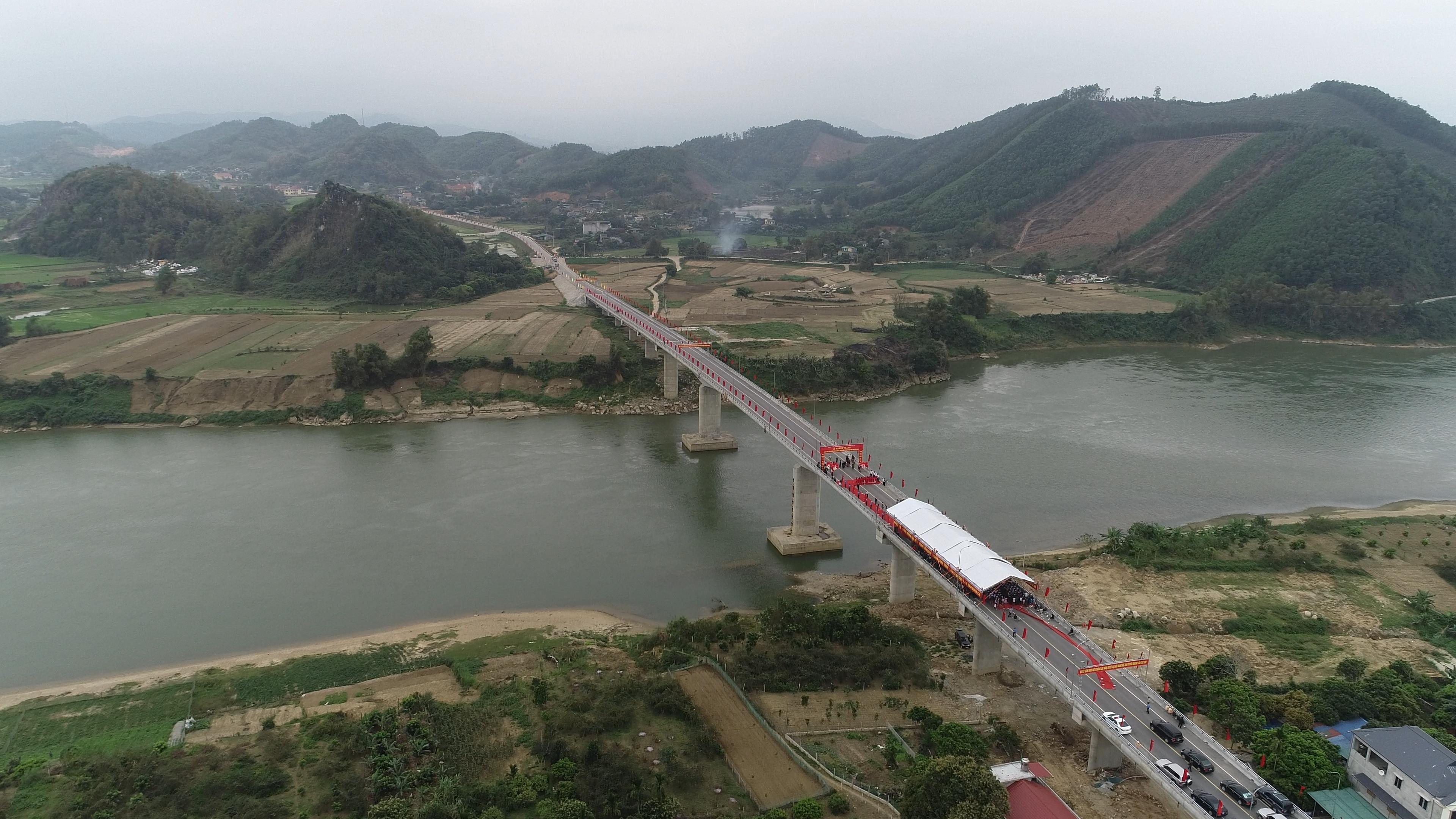 Khánh thành cầu Bình Ca - Tuyên Quang